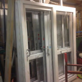 New White French and Sliding Patio Doors
