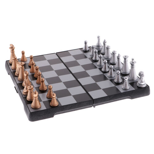 Magnetic Chess Set With Folding Chess Board for Kids and Adu