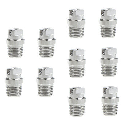 10 Packs High Pressure Spray Nozzle Tip 14 Pressure Washer Accessories