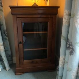Cherry wood Glazed Cabinet