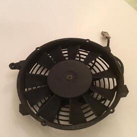 Packet electric fan