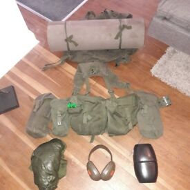 SET OF ARMY 58 WEBBING