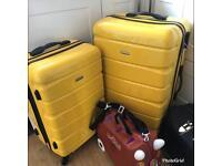 x2 brand new suitcases