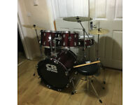 Fully Refurbished CB Drum Kit with Extra Cymbal ~Free Local Delivery~