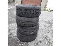 195/50/15 Tyres x4