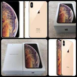 New in Box iPhone XS Max 64GB Gold, Apple Warranty 10th Oct., 2019, Factory Unlocked!!!***(Rogers/Telus/Bell/Freedom/Int
