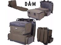 Carp Fishing Ruck Sack DAM Lounger Fold Out Ruck Sack NEW UN-Used !
