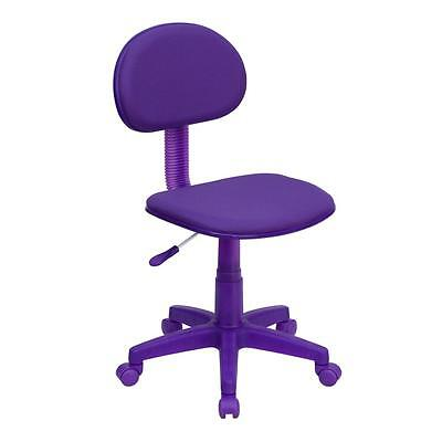 Flash Furniture Purple Fabric Ergonomic Office Computer Task Chair