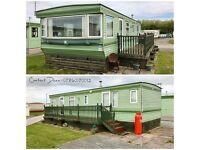 STATIC CARAVAN HOLIDAY HOME FOR SALE 12 MONTH PARK SEA VIEWS NORTH WEST NEAR LAKES PET FRIENDLY