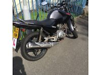 Ybr 125 12 mot low mileage cheap runner good all round bike