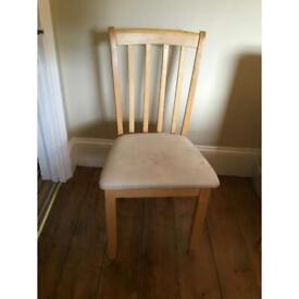 6 IKEA dining chairs