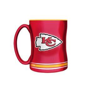 Kansas City Chiefs 14 Ounce Sculpted Relief Mug (New) Canada Preview