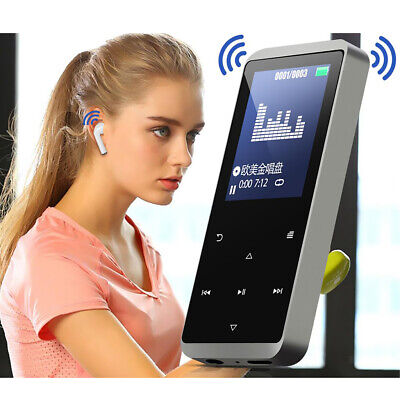 Bluetooth MP3 Player Touch Screen Music FM Radio, Recorder