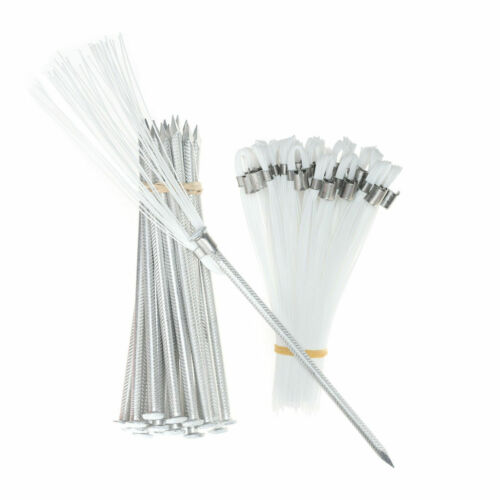 Marking Flags 6 In White Whiskers with Stakes 25 Pack, Sports, Soccer, Flagging