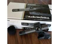 Audio Technica ATM450 studio recording condenser microphone