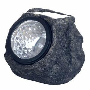 Pure Garden 50 21 Solar Rock Landscaping Lights Led Set Of 4
