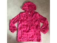 Girls Pac A Mac Raincoat M&S *9-10 Years* Pink Butterflies