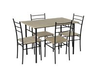 Dining table set 5 pieces for sale (pick-up required)