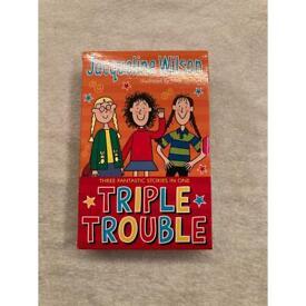 Triple trouble book set