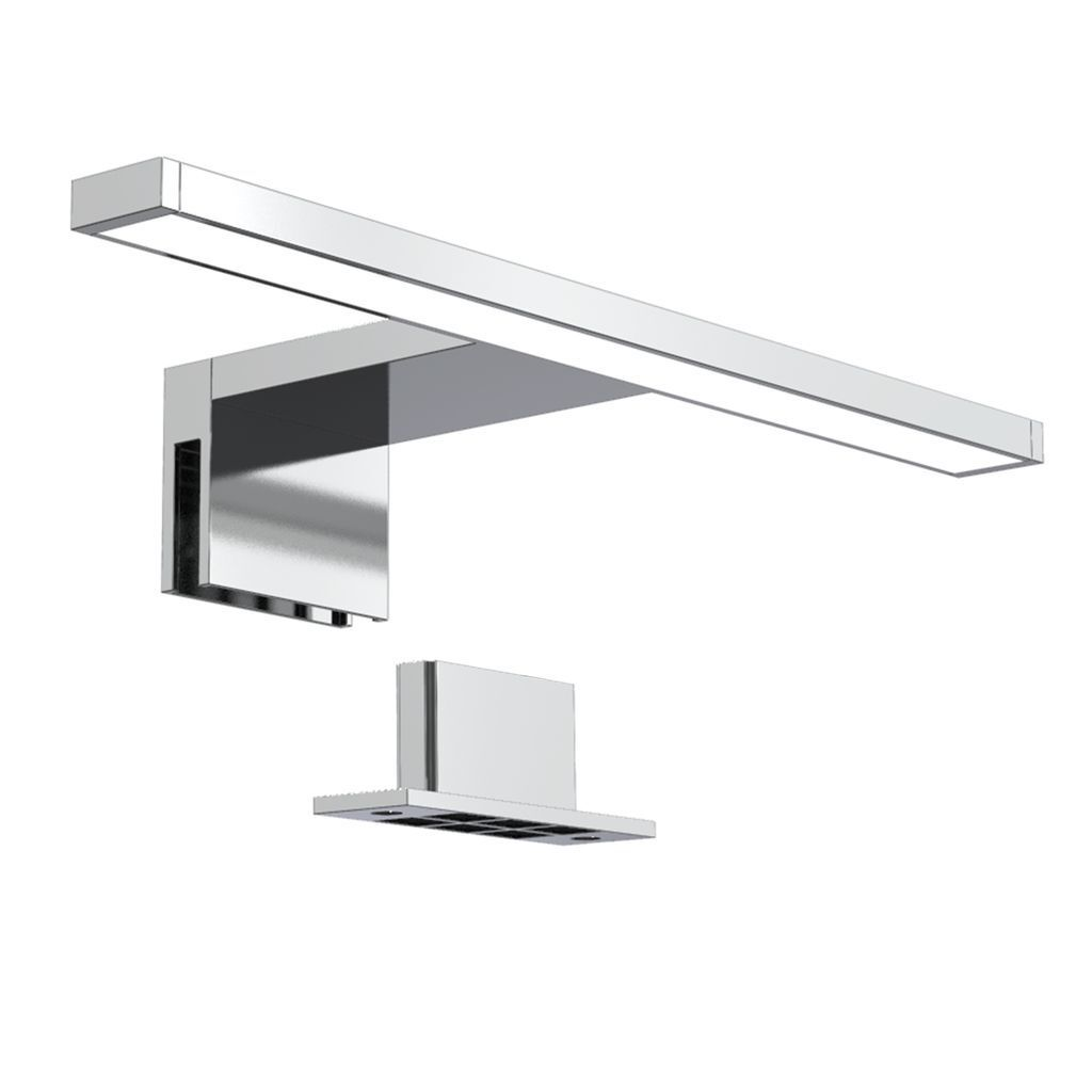LED Bad Spiegel-Leuchte Badezimmer Beleuchtung Aufbau-Lampe IP44 Schminklicht 5W