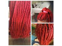 Braids lovers,cornrows,Full head extensions,LA weave,dreadlocks and faux.Done with Passion.