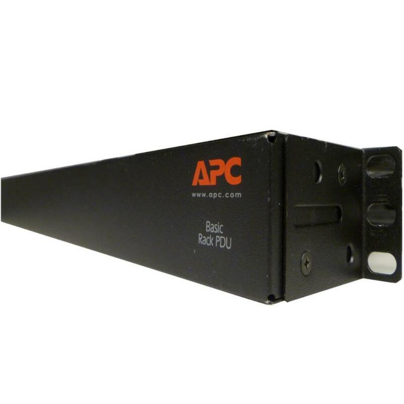 APC AP9571 208V 30A 1U BASIC RACK PDU L6-30P POWER UNIT SERVER RACKS