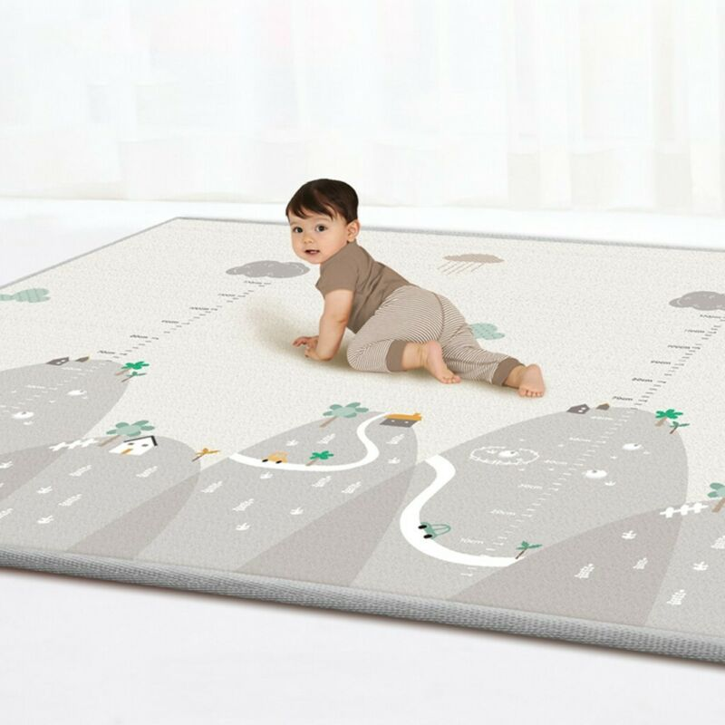 Baby Play Mat - Large Double Sides Non-Slip Waterproof Portable For Playroom YT