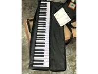 Portable keyboard piano