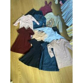 Bundle winter girls clothes age 4 to 7yrs