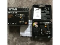 Titan Combo Cordless Drill - as new - only £34!