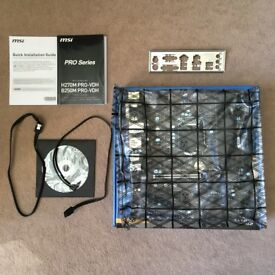 MSI B250M PRO-VDH ATX LGA 1151 B250 Motherboard