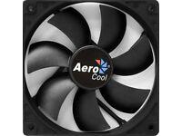 aero cool black case fan