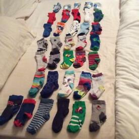 Ted baker/next boys socks 36 pairs size UK 3-5.5 infant