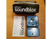 Bass overdrive/distortion pedal Soundblox multiwave