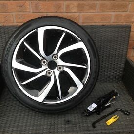 Brand New DS3 Alloy spare wheel kit