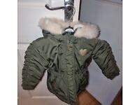 Mini girls coat