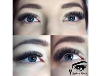 Russian Volume Eyelash Extensions, Individual Eyelash Extensions