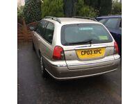 2003 Rover 75 2.0 Classic V6 Auto Estate