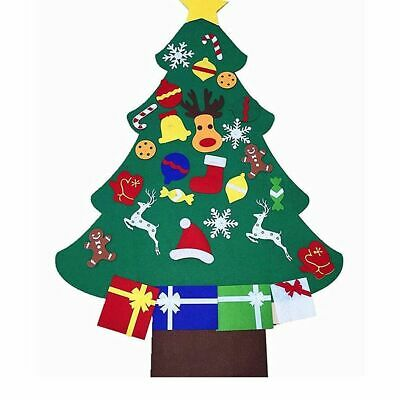 Three-dimensional Felt Cloth Christmas Tree Cute DIY Large Hanging Ornament Gift ()