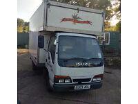 ISUZU NKR 3.0 diesel twin wheel 3.5 Ton Luton, LEZ Compliant.