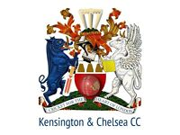 Nets at Paddington Recreation Ground, Maida Vale! Kensington & Chelsea Cricket Club this Wednesday