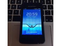 BARGAIN Very Good Alcatel One Touch 4010x Unlocked Android Mobile SmartPhone in Black +USB & Charger