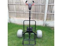Powawalker electric powered trolley. Gt2 designed for beaches.like new.