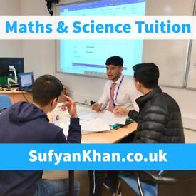 Qualified & Experienced Teacher - Maths & Science Tuition - Tutor