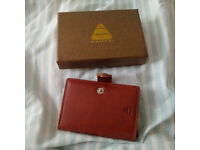 NEW UNUSED x000pgswdt Armeri Sheath Leather RFID Luxury Slimline Card Protector Wallet