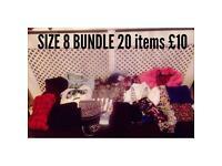 Ladies clothing Bundle Size 8