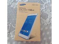 "Brand New Samsung Galaxy Tab 4, 7"" White"