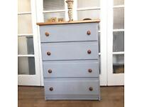 SOLID PINE CHEST OF DRAWERS FREE DELIVERY LDN🇬🇧
