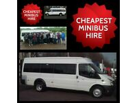 MINIBUS HIRE WITH DRIVER