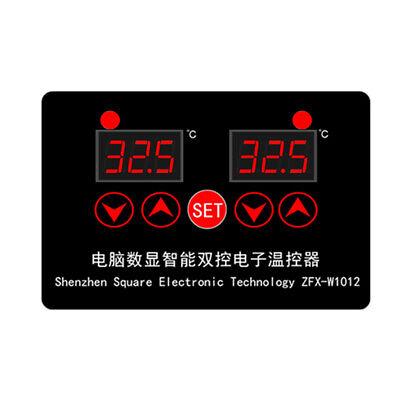 Dc 12v Dual Digital Thermostat Temperature Controller Sensor Module Ntc 10k